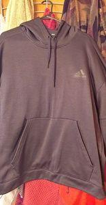 Adidas black hoodie 2xl